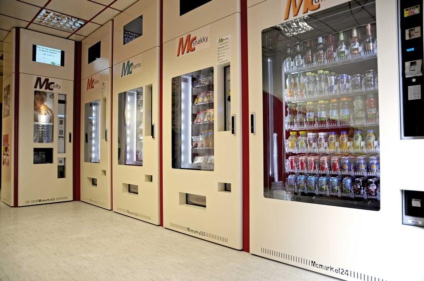 Aprire negozio distributori automatici for Negozio con costi di alloggio